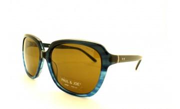 Lunettes de soleil pour Femme PAUL & JOE Bleu OCEANE01 BL68 58/17