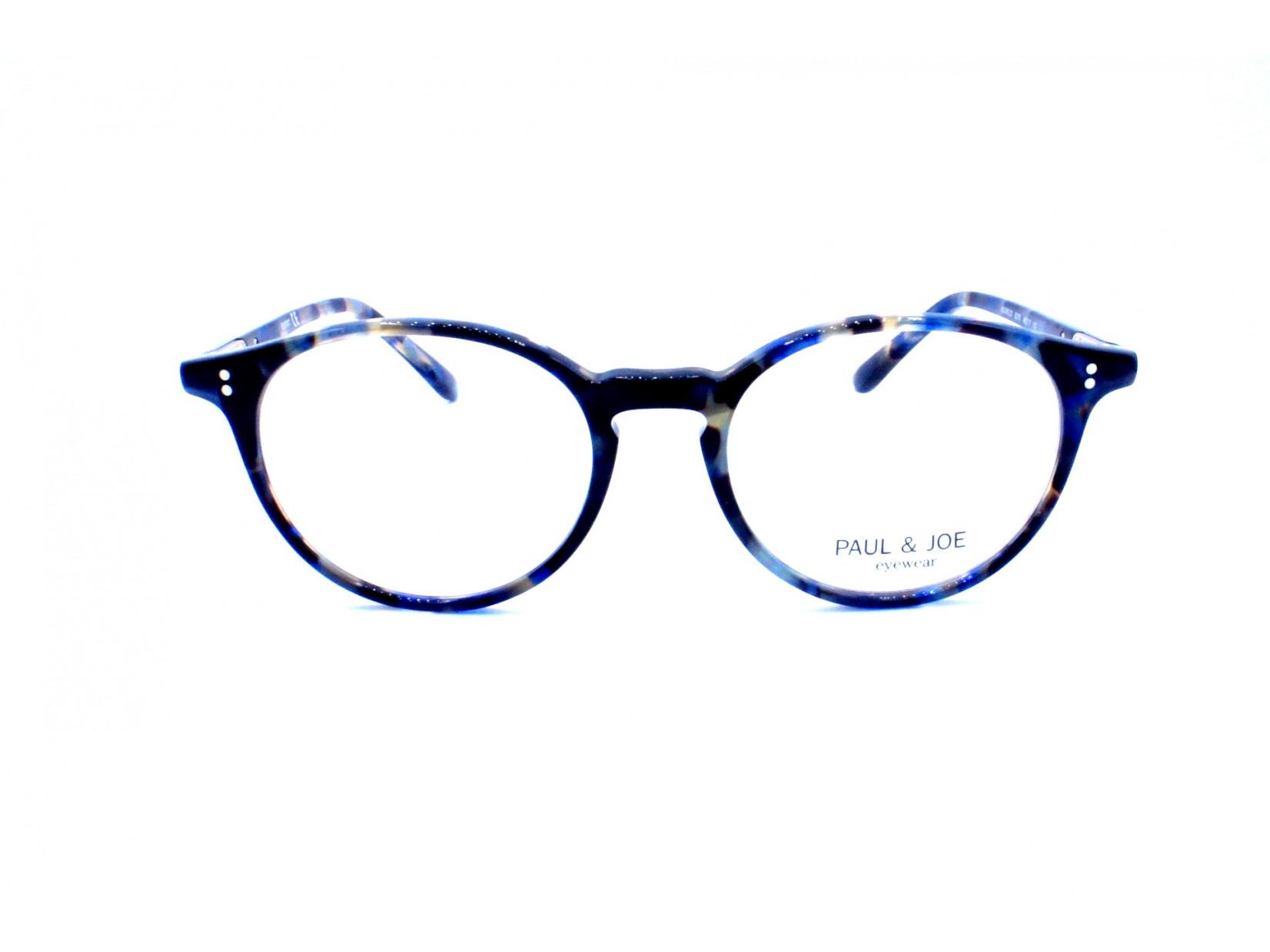 07cb29208ab Lunettes de vue pour femme PAUL AND JOE Bleu AZURE 03 E376 48 17