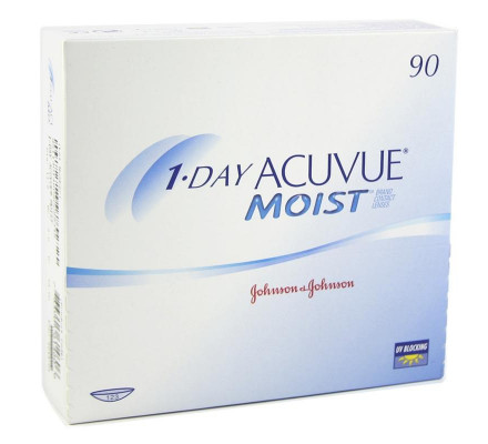 Lentilles JOHNSON VISION CARE 1 Day Acuvue Moist 90L