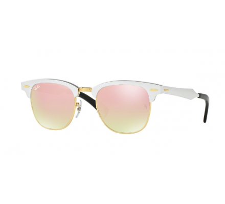 Lunettes de soleil RAY BAN RB 3507 CLUBMASTER ALUMINIUM 137/7O 49/21