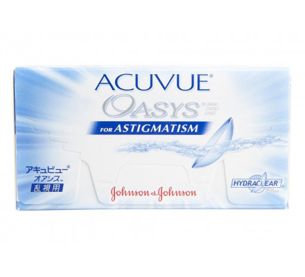 Lentilles JOHNSON VISION CARE Acuvue Oasys For Astigmatism B6