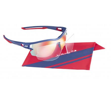 Lunettes de sport JULBO AERO Martin Fourcade Bleu / Blanc / Rouge REACTIV Perf 1-3