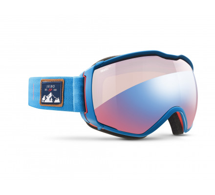 Masque de ski JULBO AEROSPACE Bleu / Rouge - Zebra Light Red
