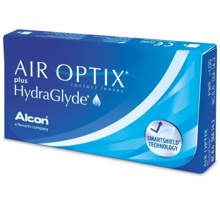 Lentilles ALCON - CIBA VISION Air Optix plus HydraGlyde