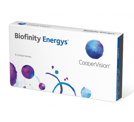 Lentilles COOPERVISION Biofinity ENERGYS