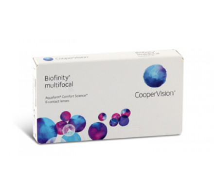 Lentilles COOPERVISION Biofinity Multifocal