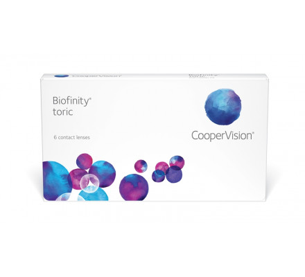 Lentilles COOPERVISION Biofinity Toric