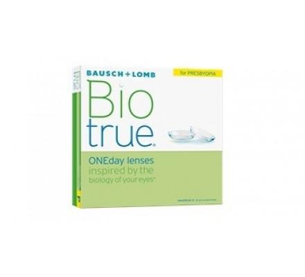 Lentilles BAUSCH & LOMB Biotrue 1 Day for Presbyopia B90