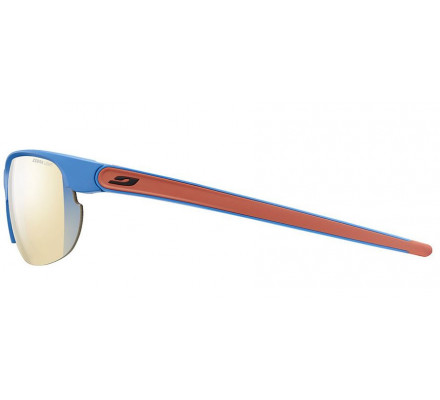 Lunettes de sport JULBO BREEZE Bleu mat / corail - Zebra Light Fire
