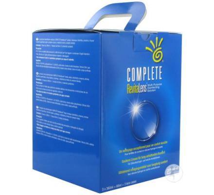 Produit pour lentilles JOHNSON VISION CARE Complete Revitalens 3X360ML + 60ML Offert