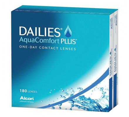 Lentilles ALCON - CIBA VISION Dailies Aquacomfort Plus 180L