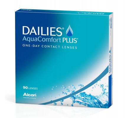 Lentilles ALCON - CIBA VISION Dailies Aquacomfort Plus 90L