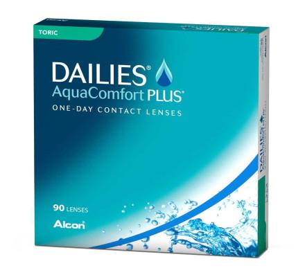 Lentilles ALCON - CIBA VISION Dailies AquaComfort Plus Toric 90L
