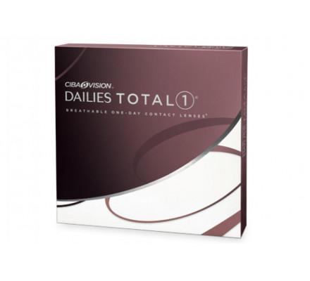 Lentilles ALCON - CIBA VISION Dailies Total 1 90L