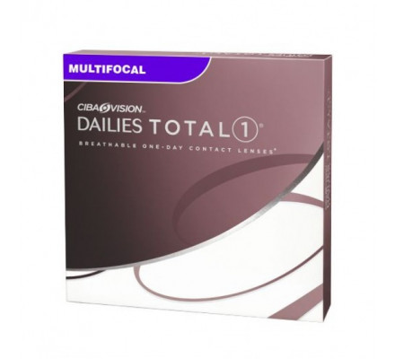 Lentilles ALCON - CIBA VISION Dailies Total 1 Multifocal 90L