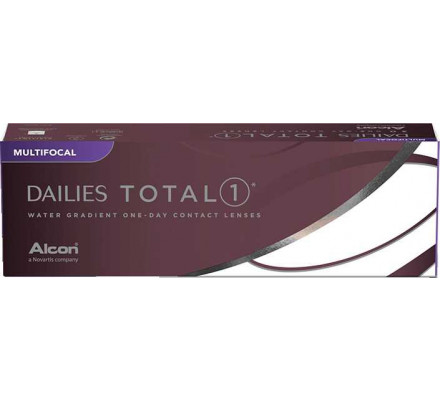 Lentilles ALCON - CIBA VISION Dailies Total 1 Multifocal 30L