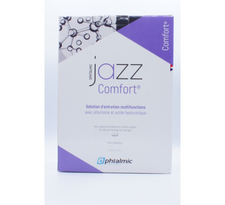 Produit pour lentilles OPHTALMIC PACK JAZZ COMFORT 3X360 ML