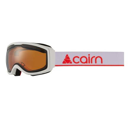 Masque de ski CAIRN FUNK OTG/ Photochromic - Mat White