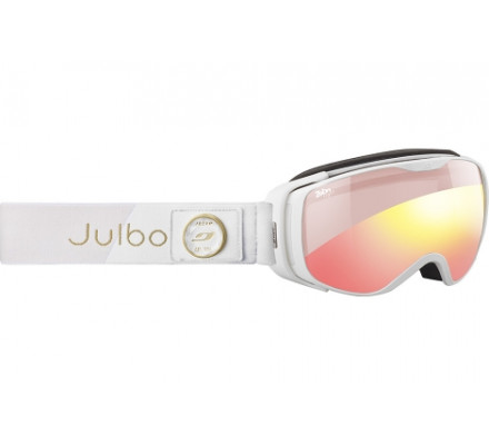 Masque de ski JULBO LUNA Blanc - Zebra Light Red