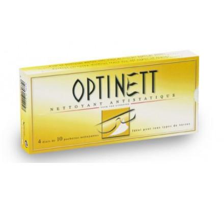 Kit d'entretien OPTINETT 40 Lingettes nettoyantes