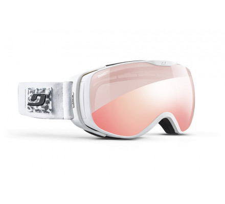 Masque de ski JULBO LUNA Blanc / Panthère - Zebra Light Red