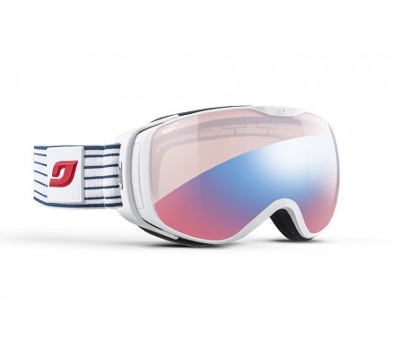 Masque de ski JULBO LUNA Marinière - Zebra Light Red