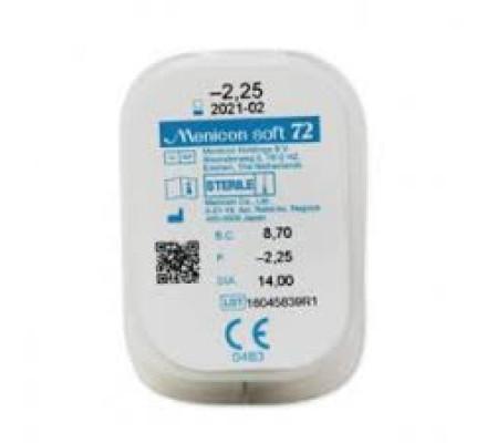 Lentilles MENICON Menicon Soft 72