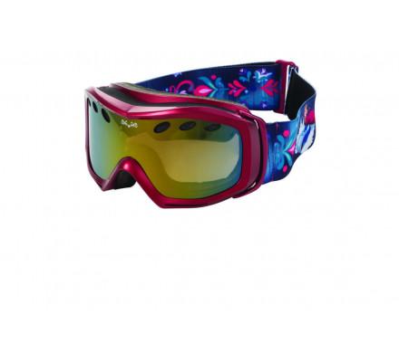 Masque de ski DEMETZ MSKI FROZEN Rose cat 3