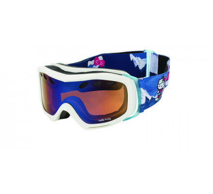 Masque de ski DEMETZ MSKI HELLO KITTY GM Blanc