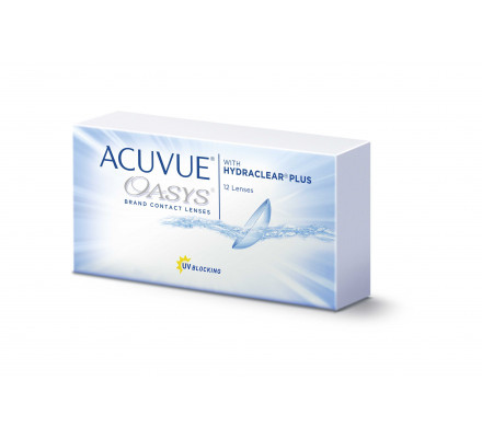 Lentilles JOHNSON VISION CARE Acuvue Oasys With Hydraclear Plus 12L