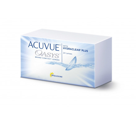 Lentilles JOHNSON VISION CARE Acuvue Oasys With Hydraclear Plus 24L