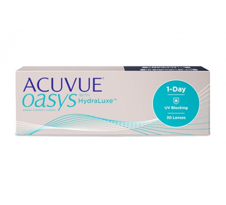 Lentilles JOHNSON VISION CARE 1 Day Acuvue Oasys With HydraLuxe 30L