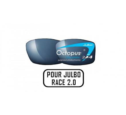 Lunettes de soleil JULBO Verres Julbo OCTOPUS sur RACE 2.0