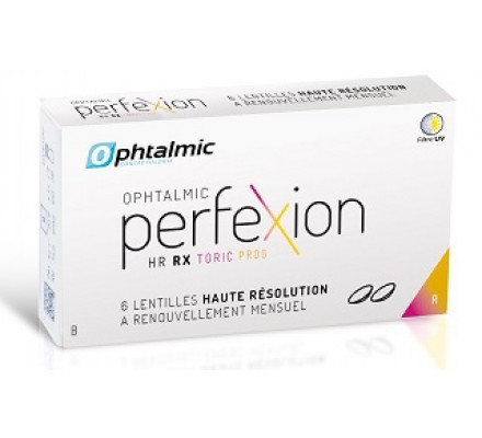 Lentilles OPHTALMIC Ophtalmic PerfeXion HR Rx Toric Progressive 6L
