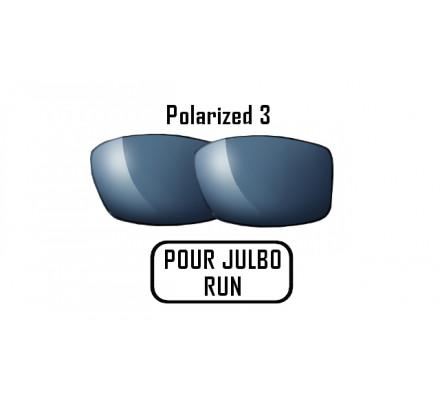 Lunettes de soleil JULBO Verres Polarized 3 gris pour Julbo RUN