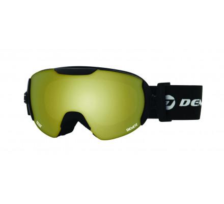 Masque de ski DEMETZ POW Noir cat 3