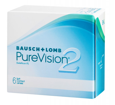Lentilles BAUSCH & LOMB Purevision 2 HD