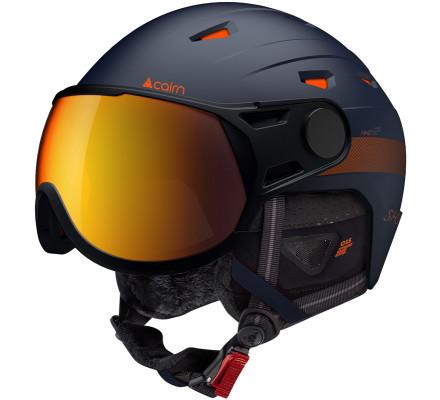 Casque de ski CAIRN SHUFFLE VISOR Evolight NXT® - Midnight Orange