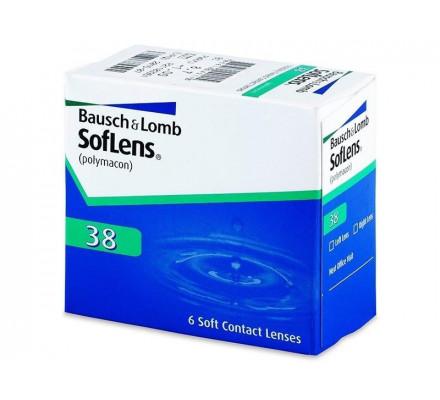 Lentilles BAUSCH & LOMB Soflens 38