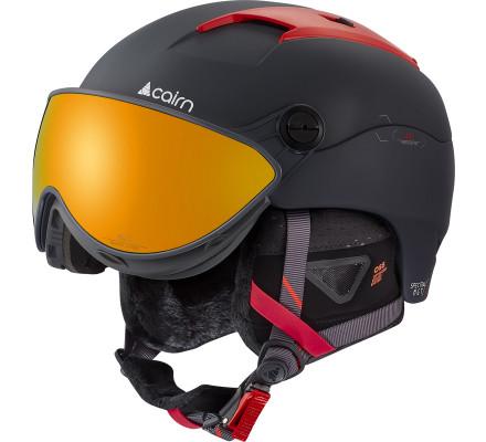 Casque de ski CAIRN SPECTRAL MGT 2 - Mat Shadow Scarlet IUM 60/61