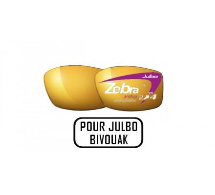 Verres ZEBRA pour Julbo BIVOUAK