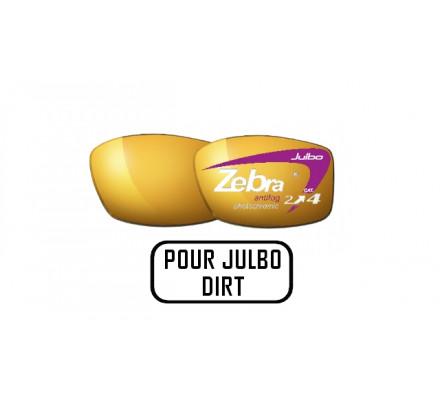 Lunettes de soleil JULBO Verres ZEBRA pour Julbo DIRT