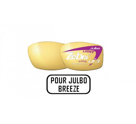 Verres JULBO Verres ZEBRA LIGHT pour BREEZE