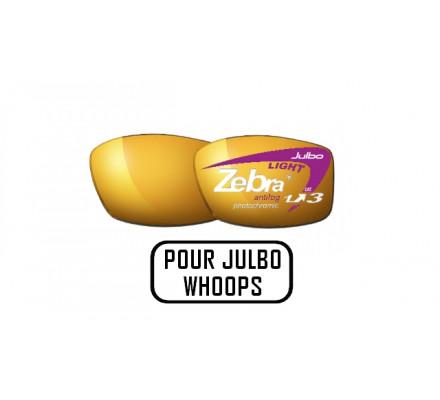 Lunettes de soleil JULBO Verres ZEBRA LIGHT pour Julbo WHOOPS