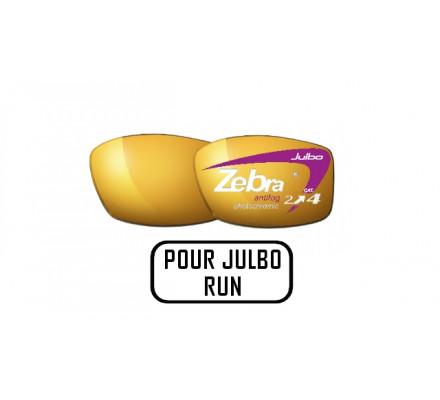 Lunettes de soleil JULBO Verres ZEBRA pour Julbo RUN