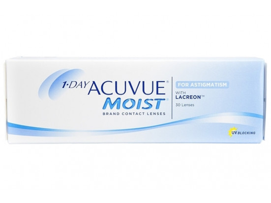Lentilles JOHNSON VISION CARE 1 Day Acuvue Moist For Astigmatism 30L