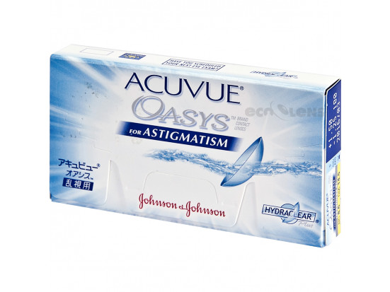 Lentilles JOHNSON VISION CARE Acuvue Oasys For Astigmatism B12