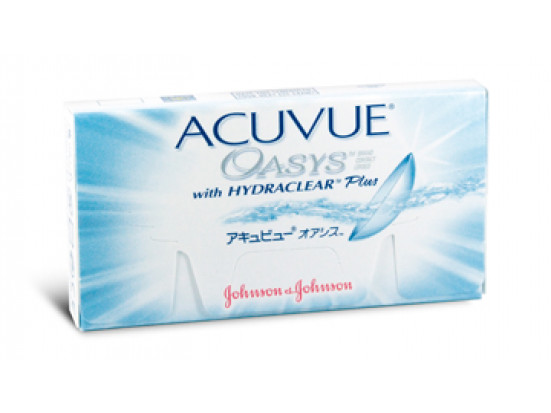 Lentilles JOHNSON VISION CARE Acuvue Oasys With Hydraclear Plus 6L