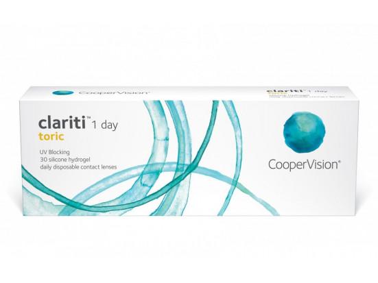 Lentilles COOPERVISION Clariti 1 Day Toric 30L