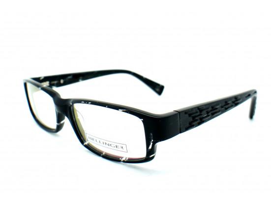 Lunettes de vue pour homme BELLINGER Noir LASER-2 C909 53/17